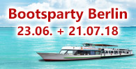 Bootsparty Berlin Partyschiff