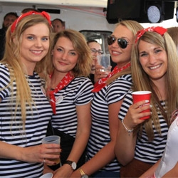 Fotos der Bootsparty vom 17.06.
