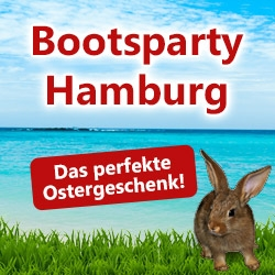 Perfekt zu Ostern: Bootsparty-Tickets